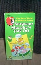Busy World of Richard Scarry, The - Sergeant Murphy's Day Off (VHS) Lowly Worm