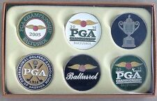 2016 PGA CHAMPIONSHIP BALTUSROL Golf Tournament BALL MARKER SET of 6