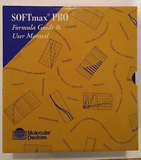 SoftMax Pro Formula Guide And User Manual Molecular Devices
