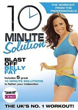 10 MINUTE SOLUTION BLAST OFF BELLY FAT Lose Tummy Workout Exercise New DVD
