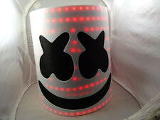 MARSHMELLO   DJ   HEAD   MASK  HELMET LED MARSHMELLOW  !!!