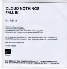 (DD820) Cloud Nothings, Fall In - 2012 DJ CD