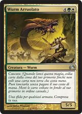 2x Wurm Arruolato - Enlisted Wurm MTG MAGIC Planechase Ita