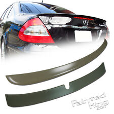 Mercedes Benz W211 E-class L Type Rear Roof Spoiler & A Type Trunk Spoiler 02-05