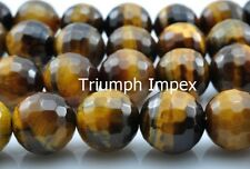 Top Quality Tiger eye Faceted Bead bracelet - Healing stone, Reiki