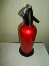 Funky Bright Red 70's Vintage Retro Sparklets Soda Siphon No Bulb