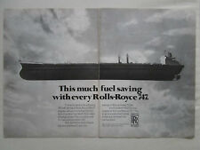 4/1981 PUB ROLLS-ROYCE RB211 ENGINE PETROLIER TANKER AD / ARTICLE EL AL ISRAEL