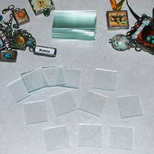 Solder Art Clear Memory Glass Big Mix 30 pieces 3 Sizes= 1x1,1 x 1-1/2 and 1 x 2