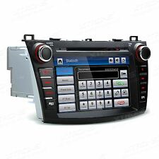 """Mazda 3 2010-2013 8"""" Car Stereo Radio DVD Player GPS Sat Nav RDS BT USB SD AUX"""