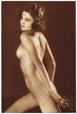 1920s Vintage Czech Female Nude Frantisek Drtikol Art Deco Photo Gravure Print