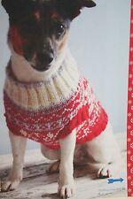 Dog Christmas Jumper Knitting Pattern (CK002)