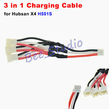 3 in 1 Charging Charge Cable for Hubsan X4 H501S RC Drone Quadcopter Spare Parts