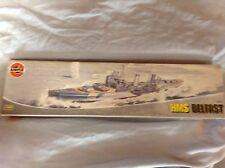Airfix 1/600 Scale HMS Belfast Cruiser Plastic Model Kit