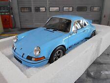 PORSCHE 911 Carrera RSR 2.8 Breitbau 2.7 gulf blau blue Minichamps NEU NEW 1:18