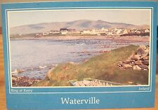 Irish Postcard WATERVILLE County Ring of Kerry Ireland Cardall Continental 4x6
