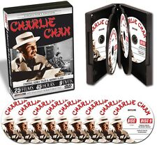 Charlie Chan starring Sidney Toler & Warner Oland 25 Films 45 Hours 9DVDs New!