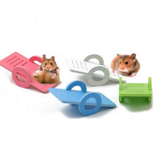 Wooden Colorful Swing House Seesaw for Hamster Mouse Exercise Toy Pet Feed Tool
