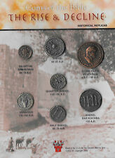 The Rise And Decline Biblical Replica 7 Coin Set - Historical Museum Replicas
