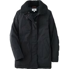 UNIQLO Ines de la Fressange IDLF Down Puffer Parka Jacket in Navy Black Small S