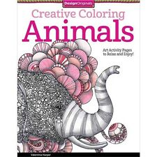 Design Originals Creative Coloring: Animals - 174517