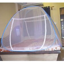 6.5x6.5ft.SIZED PORTABLE FOLDABLE MOSQUITO NET FOR DOUBLE SIZE BED
