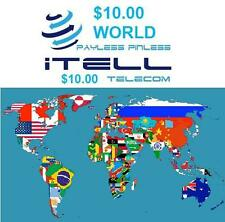 $10 International calling card To Call from USA to Anywhere