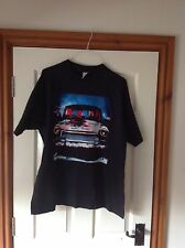 U2 Concert T Shirt Zoo TV Tour Euro Dates On Back Of Shirt
