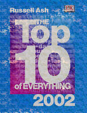 """The Top 10 of Everything 2002 Ash, Russell """"AS NEW"""" Book"""
