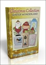 Card-making Dvd-Winter Wonderland colecta de Navidad. Brillante valor!