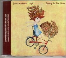 (AJ520) James Yorkston, Steady As She Goes - DJ CD