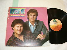 "The Russians ""Love Forever More"" 1983 Country LP, VG+, on Voice Box, w/ Insert"