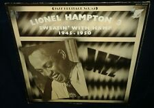 Lionel Hampton 3 - Sweatin' With Hamp '45 -'50 VINYL NM LP, FRENCH PRESSING 1974