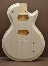 CUSTOM ORDER SC-G UNFINISHED WHITE PINE GUITAR BODY FITS STRATOCASTER NECK