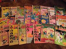 Lot of 23 Vintage 1970's Harvey RICHIE RICH COMIC BOOKS