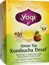 Green tea KOMBUCHA DECAF  FROM YOGI TEA -100% NATURAL , IMPORTED FROM USA