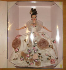 Antique Rose Barbie Doll Limited Ed 1996 FAO Schwarz NRFB Free Ship In U.S.
