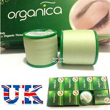 12  X Professional Organica Eyebrow Threading Antibacterial hair Removal Thread