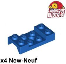 Lego - 4x vehicle mudguard garde boue 2x4 Arch arche bleu/blue 60212 NEUF