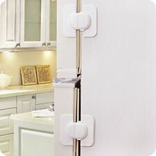 Safe Latch For Baby Cabinet Toddler Child Kids Catch Safety Lock Door Fridge