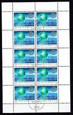 Österreich gestempelt Kleinbogen  MiNr.  2517  100 Jahre Rotary International