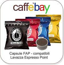 Tot.200 capsule Caffè Borbone 50 NERA ROSSA BLU ORO Fap Lavazza espresso point