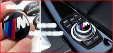 BMW //M Multimedia Console Epoxy Badge Emblem 2.9CM Diameter Fits BMW 3 Series