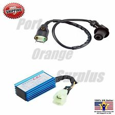 Performance Racing 6 Pins CDI Box + Ignition Coil GY6 AC 50cc-150cc Scooter ATV
