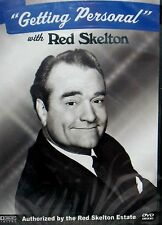 RED SKELTON GETTING PERSONAL,NEW! DVD,RARE INTERVIEW 1992 ,SONGS, LOVE ,TV SHOW