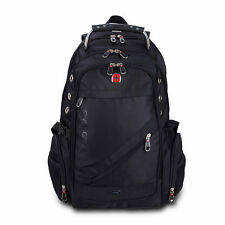 "15.6"" Swiss Gear Laptop Notebook Shoulder Bag Black Business Backpack Rucksack"