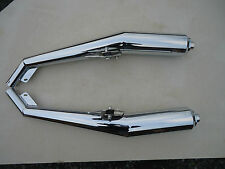 LAVERDA JOTA CHROME SILENCERS FOR SFC 1000 (READ DESCRIPTION FIRST)