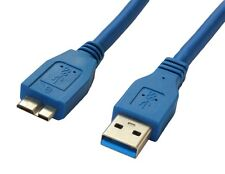 HighSpeed 1m USB 3.0 Cable Lead for WD My Cloud Business DL4100 NAS HDD
