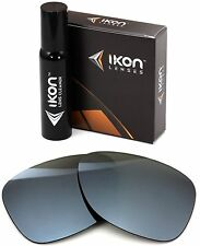 Polarized IKON Iridium Replacement Lenses For Oakley Monte Frio Silver Mirror