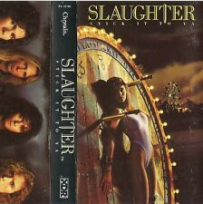Stick It to Ya by Slaughter (Cassette, 1990 Chrysalis) Version: F4 21702(US) XDR