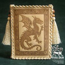 """Celtic Dragon"" - leather Tarot bag"